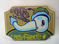 Tonk Graffiti Art Canvas/TAW-23