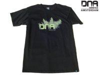 DNA GENETICS AMSTERDAM/アムステルダム シードバンク Tシャツ(CELL STRUCTURE/BLACK)
