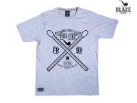 BLAZE SUPPLY/ブレイズサプライ-2 MATCHES Tシャツ(GREY)