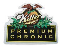 THC STICKER-ステッカー(KILLER PREMIUM CHRONIC)C-5
