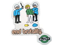 THC STICKER-ステッカー(end brutality)C-60