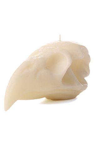 画像2: INSIGHT BALD EAGLE SKULL CANDLE インサイト キャンドル WHITE