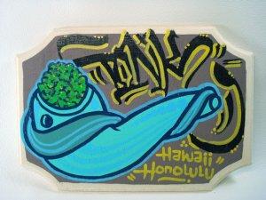 画像1: Tonk Graffiti Art Canvas TAW22