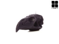INSIGHT BALD EAGLE SKULL CANDLE-インサイト キャンドル(BLACK)