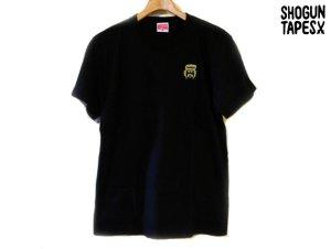 画像1: SHOGUN TAPES ONE POINT CHEECH TEE Tシャツ BLACK GOLD