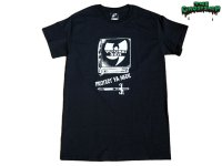 THE GHOST SHIP/幽霊船-PROTECT YA NECK Tシャツ(BLACK/WHITE)