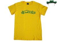 THE GHOST SHIP 幽霊船 MUSIC Tシャツ YELLOW GREEN