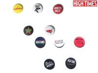HIGH TIMES REEFER MADNESS PIN SET/ハイタイムズ×リーファーマッドネス ピンバッジセット(5個)