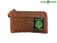 "DIME BAGS-ダイムバッグ/7"" PADDED POUCH-パッド付きポーチ(BROWN)"