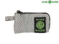 "DIME BAGS-ダイムバッグ/5"" PADDED POUCH-パッド付きポーチ(SILVER)"