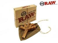 RAW LEVEL 5 WOODEN CIG HOLDER-ロウ 木製シガレットホルダー(5穴)