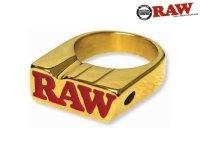 RAW 24K GOLD SMOKE RING-ロウ ゴールド スモークリング(指輪)