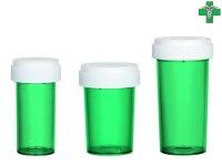 メディカルマリファナ ケース 医療大麻 容器 GREEN グリーン