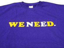 他の写真1: WE NEED Tシャツ PURPLE