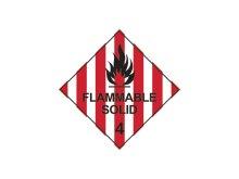 他の写真2: FLAMMABLE SOLID 引火性個体 ステッカーパック 10枚
