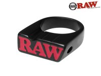 RAW BLACK SMOKE RING ロウ ブラック スモークリング 指輪