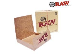 画像1: RAW PARCHMENT PAPER POUCH BOX ロウ パーチメントペーパーポーチ 20枚