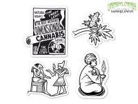 DIMENSIONAL CANNABIS ディメンショナル カンナビス ステッカーセット