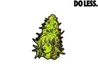 DO LESS PIN エナメルピンバッジ GREEN BUD BABE