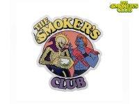 THE SMOKERS CLUB ザスモーカーズクラブ SATURDAY MORNING YELLOW ステッカー