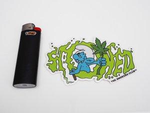 画像2: THE SMOKERS CLUB ザスモーカーズクラブ SMURF DZA ステッカー