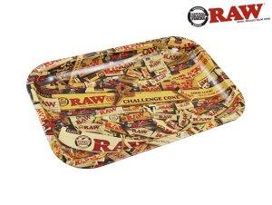 画像1: RAW ROLLING TRAY ロウ ローリングペーパーデザイン ローリングトレイ