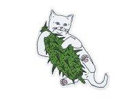 THC ステッカー Buds Cat C215