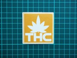 画像2: THC ステッカー Yellow Logo C211