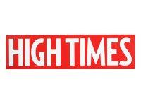 HIGH TIMES ハイタイムズ ロゴ ステッカー C233