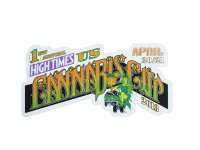 HIGH TIMES ハイタイムズ カンナビスカップ ステッカー US C236