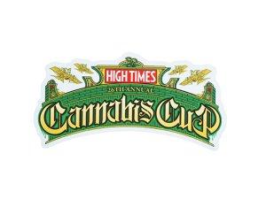 画像1: HIGH TIMES ハイタイムズ カンナビスカップ ステッカー 26Th C234