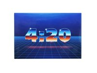 THC ステッカー Time 420 C209