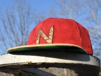 NUGGLIFE Dutchie suede ストラップバック キャップ 帽子