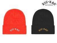 ZIG ZAG ジグザグ オフィシャル ビーニー ニット帽子
