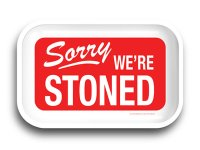SORRY WERE STONED ROLLING TRAY ローリングトレイ