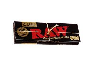 画像2: RAW BLACK SINGLE WIDE ロウ ブラック シングルワイド 70mm 極薄