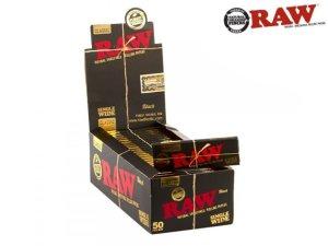 画像1: RAW BLACK SINGLE WIDE ロウ ブラック シングルワイド 70mm 極薄