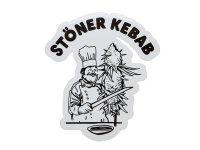THC ステッカー Kebab C259