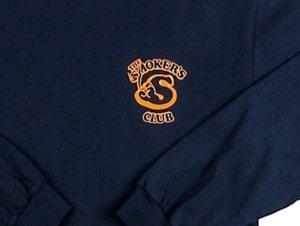 画像3: THE SMOKERS CLUB ザスモーカーズクラブ LONG SLEEVE MEMBER TEE ロングスリーブ Tシャツ NAVY