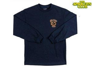 画像1: THE SMOKERS CLUB ザスモーカーズクラブ LONG SLEEVE MEMBER TEE ロングスリーブ Tシャツ NAVY