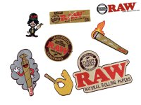RAW SMOKERS PATCH COLLECTION ロウ スモーカーズパッチコレクション ワッペン7個セット