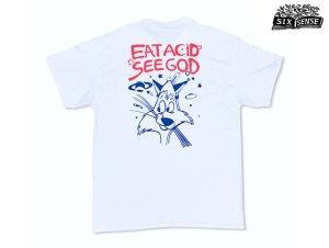画像1: SIXSENSE シックスセンス EASG ポケット Tシャツ ホワイト