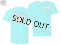 KILLER ACID キラーアシッド 420 CAT Tシャツ TURQUOISE BLUE