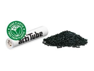 画像3: ACTITUBE SLIM アクティチューブ フィルタースリム 活性炭 50個