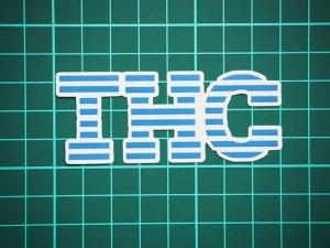 画像2: THC ステッカー Blue Stripe C273