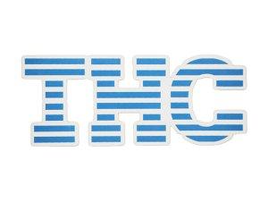画像1: THC ステッカー Blue Stripe C273