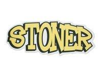 THC ステッカー Yellow Stoner C271