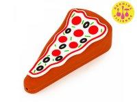 LIT SILICONE PIZZA HAND PIPE ピザ シリコン ハンドパイプ