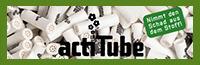 Tune/チューン actitube/アクティチューブ 活性炭 パイプ